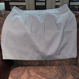Plaid Plus Skirt